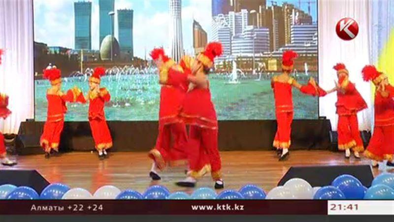 В День мира казахстанские школьники пели и танцевали