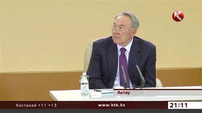 Назарбаев требует, чтобы из Мангистау сделали туристический рай