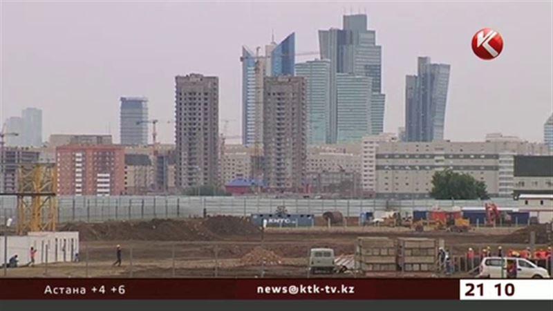 ЭКСПО – только из казахстанских кирпичей, бетона и арматуры