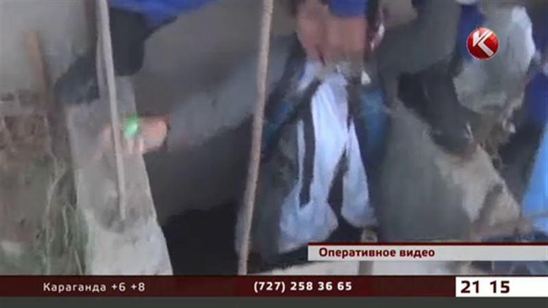 В Шымкенте женщина чуть не умерла в септике