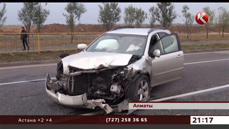 Кровавое ДТП в Алматы унесло жизнь человека