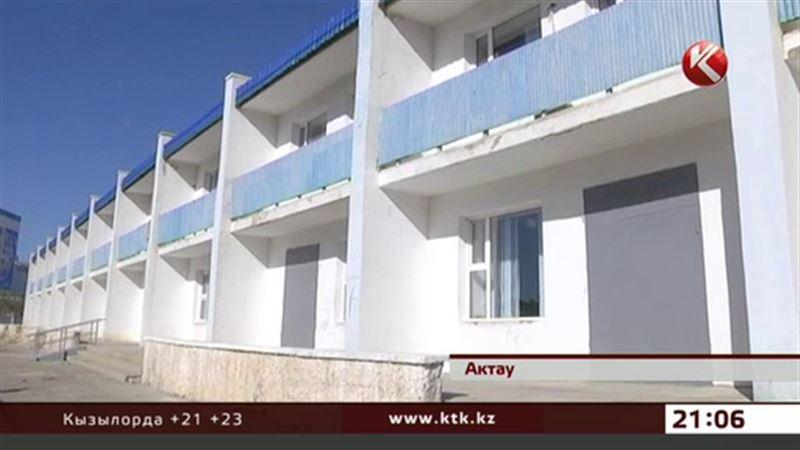В Актау дети из инфекционной больницы надышались ядовитыми парами