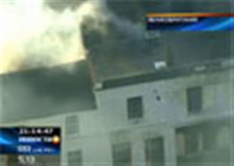 На юге Лондона сгорел жилой дом