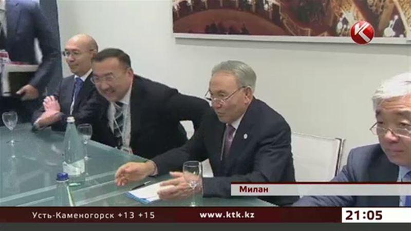 Назарбаева на саммите «Европа-Азия» пригласили продегустировать вино