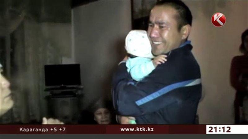 В Шымкенте прямо из-под бока матери выкрали грудного ребенка
