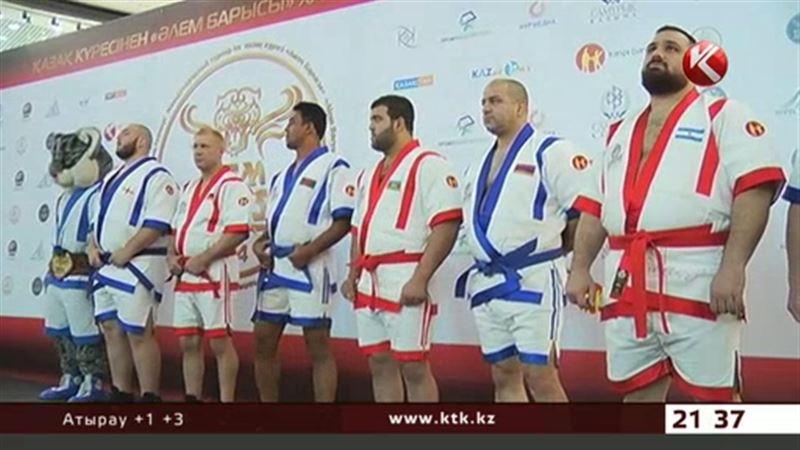 Самым тяжелым палуаном на «Алем Барысы» стал спортсмен из Грузии