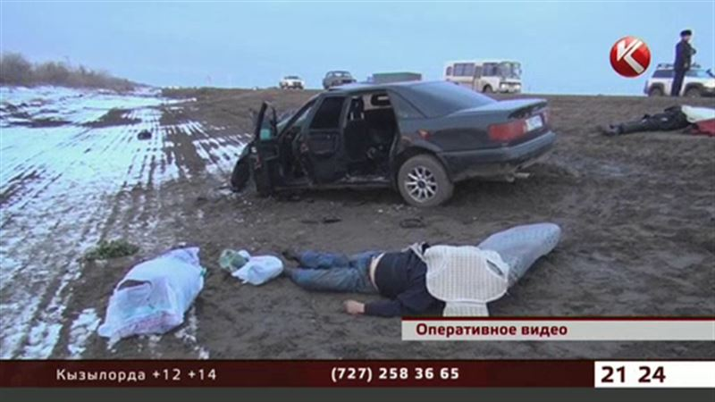 Двое жителей ЮКО погибли в ДТП в пригороде Павлодара