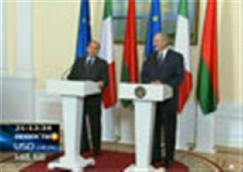 Сильвио Берлускони - первый западный лидер, посетивший Беларусь за последние 15 лет