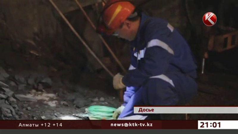 В Сатпаеве из-за взрыва во время бурения погиб шахтер