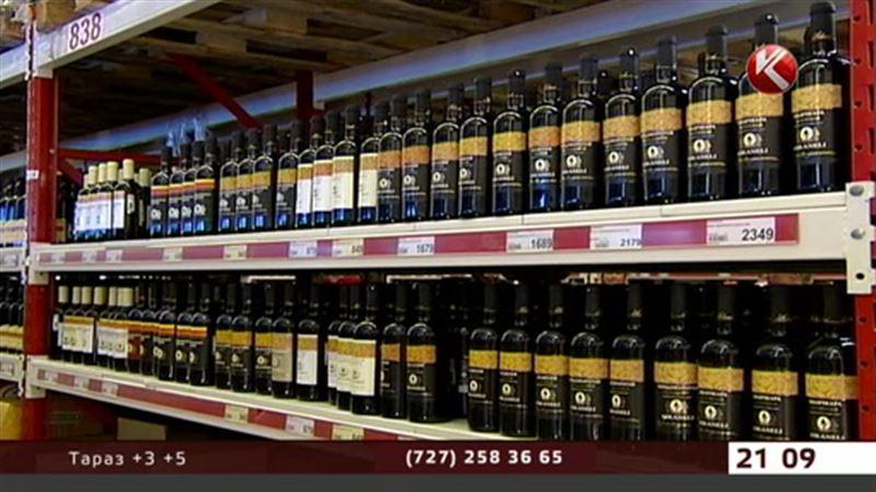 Казахстан ограничит ввоз импортного алкоголя