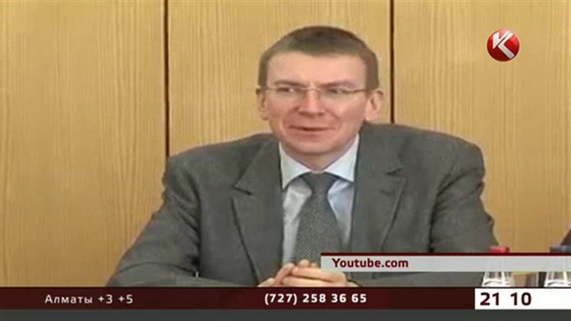 В гомосексуализме во всеуслышание признался министр иностранных дел Латвии
