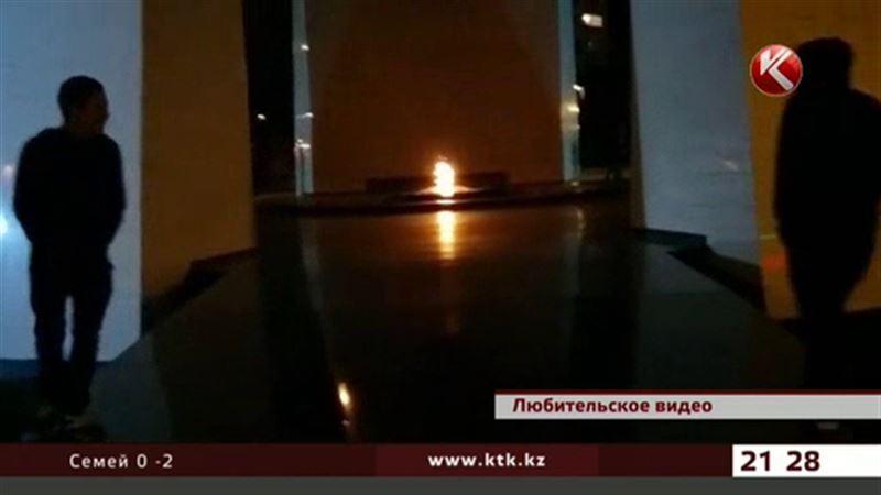 В Актау разыскивают организатора взрыва у Вечного огня