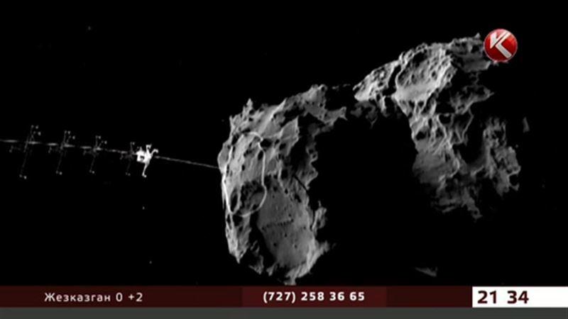 На комету впервые в истории приземлится робот-гарпун