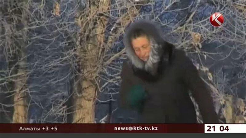 В Казахстан идут холода