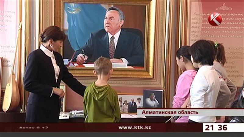 Воспитанники детских домов побывали на родине Президента