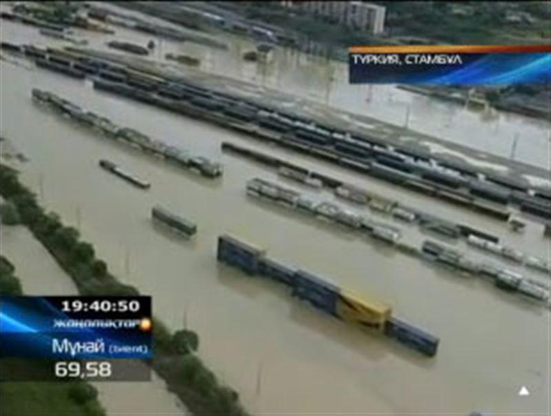 Стамбұл: соңғы мәліметтерге қарағанда, су тасқынынан 31 адам опат болған