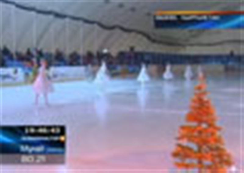 Қырғызстан: мұз айдынында тұңғыш рет шоу ұйымдастырылды