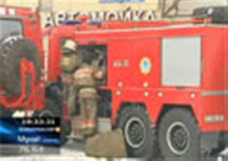 Астанадағы бомбадан қорғану орнында болған өрт үш адамның өмірін қиды