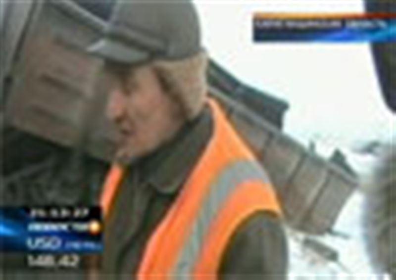 Крупная железнодорожная авария в Карагандинской области