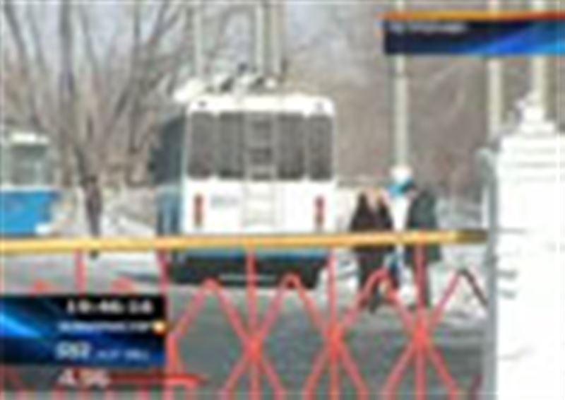 Петропавл: троллейбус паркінің жұмысшылары наразылық шарасына шықты