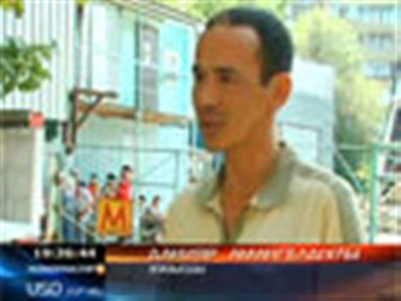 Алматыда метро салып жатқан құрылысшылар аштық жариялады