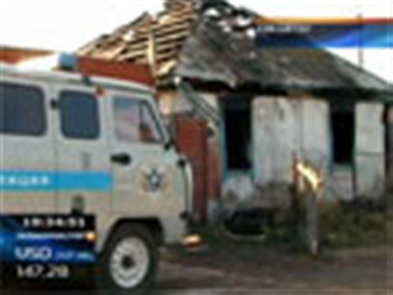 Көкшетау маңайындағы жер үйлердің бірінде өрт шығып, 2 жасар бүлдіршін қаза болды