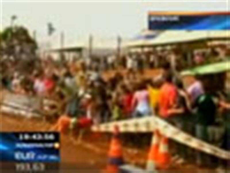 Бразилия: трибунаның астында 150 адам жаншылып қалды!