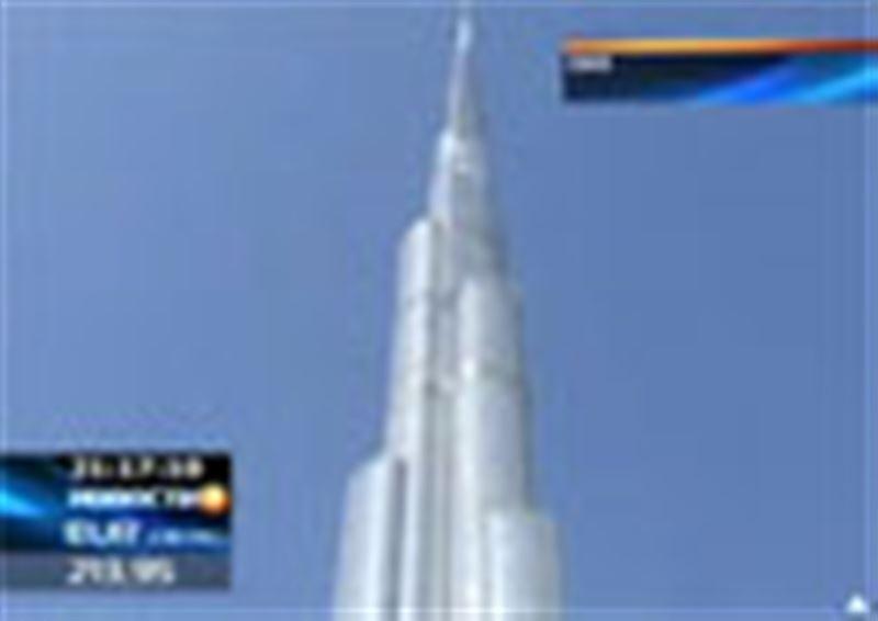 Самый высокий небоскреб в мире открыт в Дубае