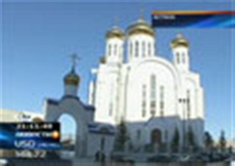 Храм достроен! Самый грандиозный православный собор Казахстана готовят к церемонии освящения
