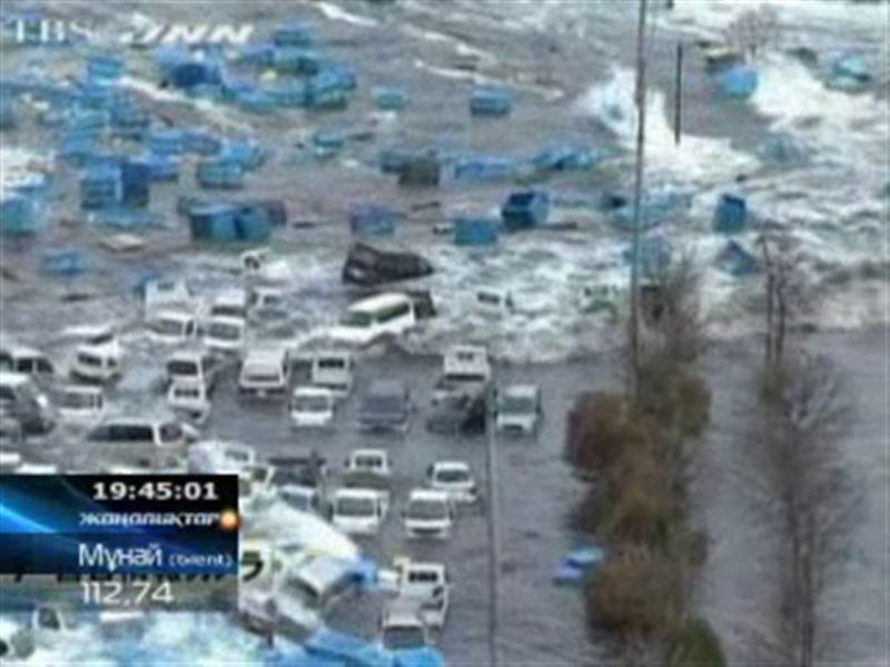 Жапонияда жойқын жер сілкінісі болып, арты цунамиге ұласты