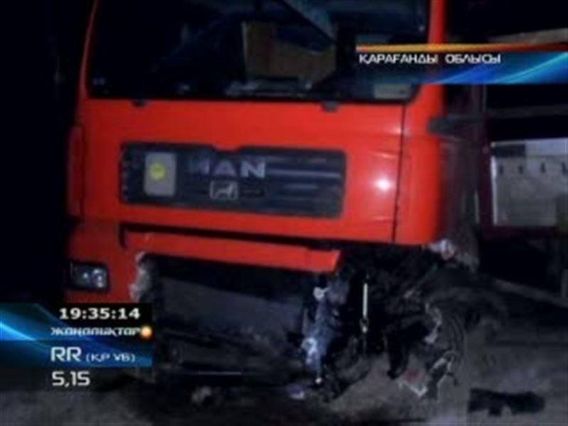 Қарағанды облысында жол апатынан бір отбасының төрт бірдей мүшесі опат болды