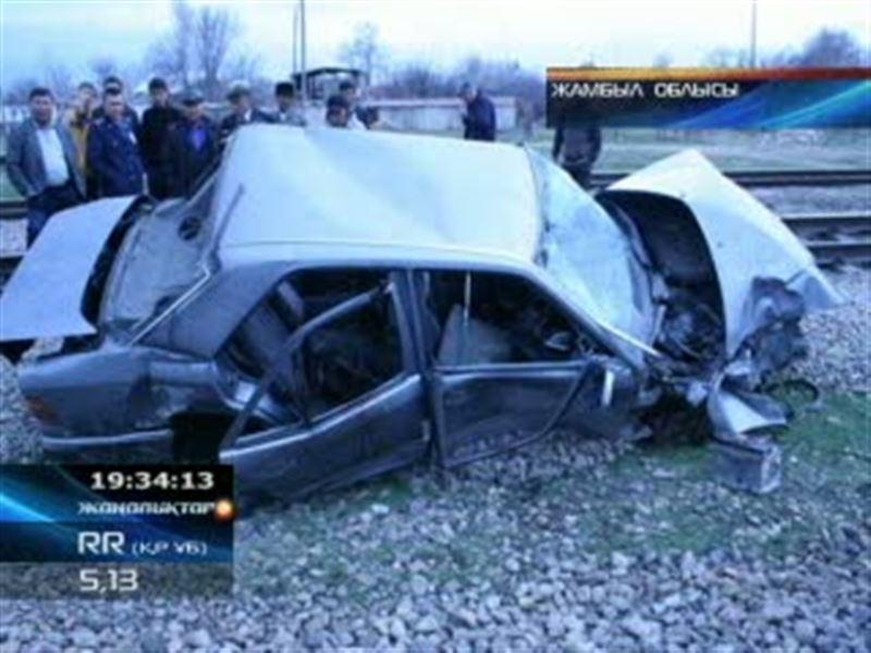 Жамбыл облысында 3 әскери қызметкер жол апатынан қаза тапты