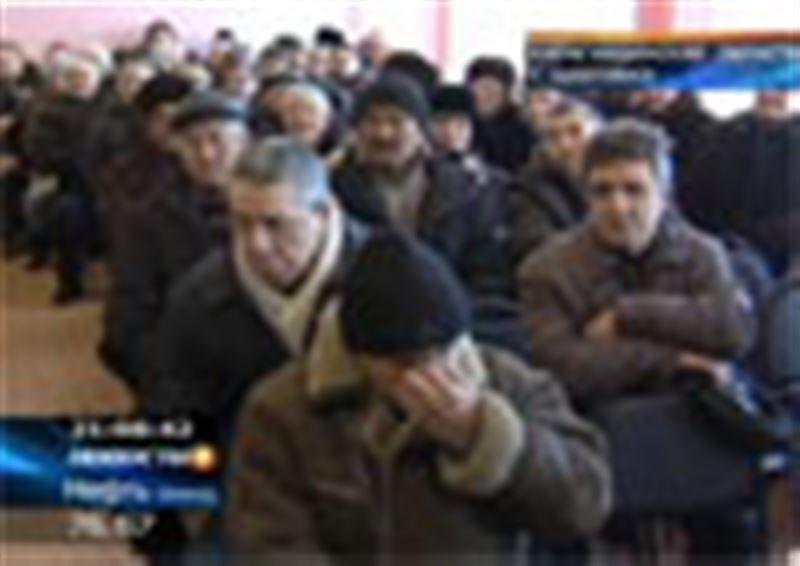 Карагандинские шахтеры-регрессники будут жить у здания Минтруда. Они недовольны решением вопроса о компенсации за потерянное здоровье