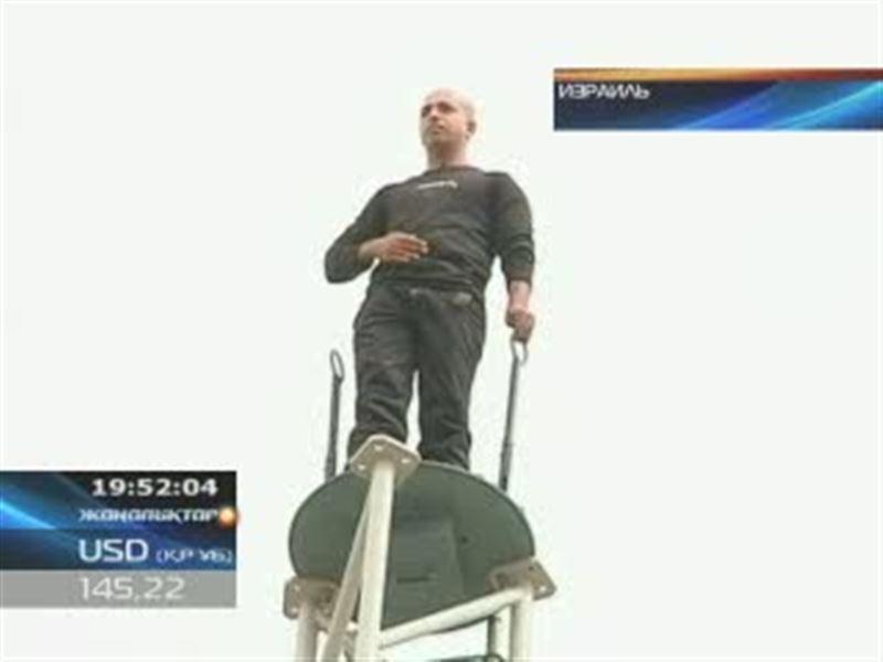Израильдік сиқыршы самғау биіктікте 35 сағат бойы тапжылмай тұрды