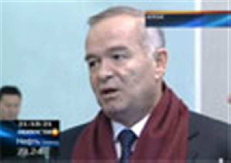 В районный суд города Алги Актюбинской области поступил иск на президента Узбекистана