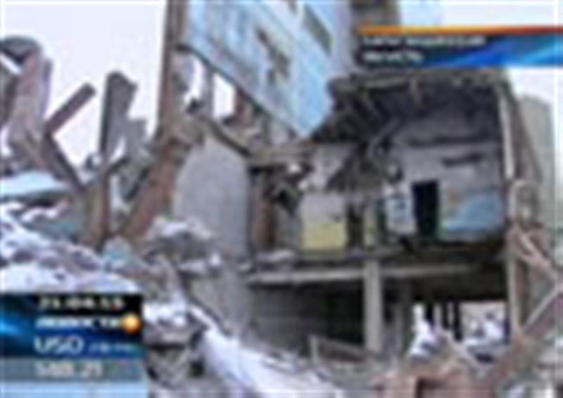 По факту обрушения здания бывшего военного объекта «Дарьял-У» полиция Актогайского района завела уголовное дело