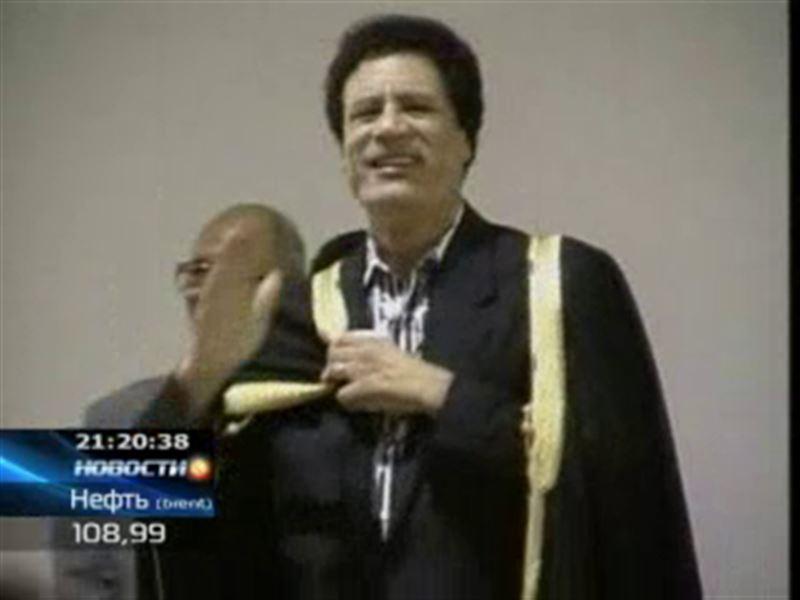 Муаммар Каддафи көтерілісшілердің  қолына түсті