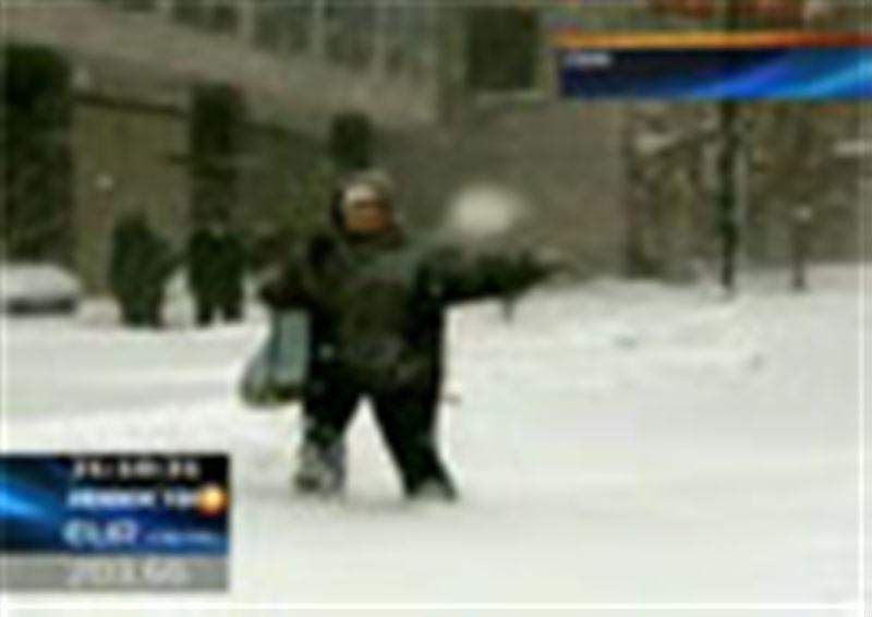 Снежная буря парализовала северо-восток США. Такой зимы здесь не было уже более 100 лет