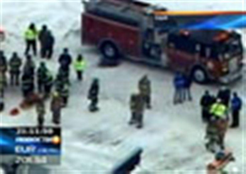 В американском городе Ростравере хоккейный матч чуть было не закончился трагедией