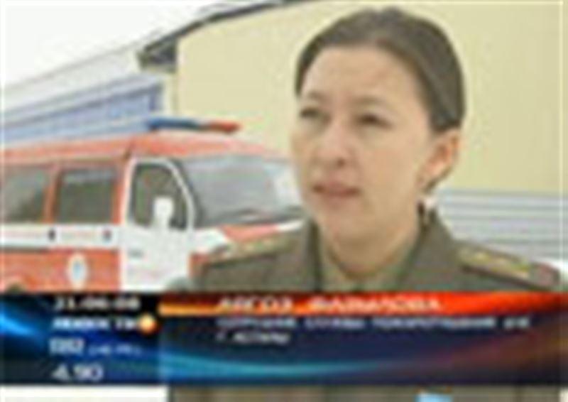 В Астане в огне погибли сразу пять человек