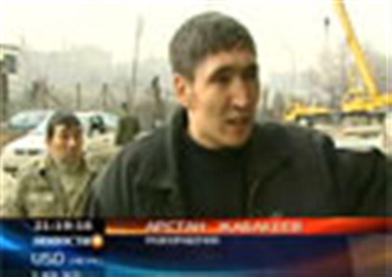В Алматы  бастуют рабочие одной из турецких строительных компаний