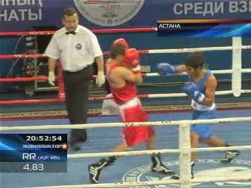 Боқстан ел чемпионатының ширек финалына шыққандар белгілі болды