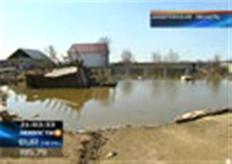 В Алматинской области затопило село Алгабас