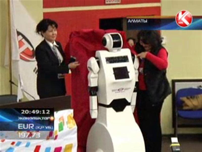 Алматылық студенттер жасаған робот бүгін көпшілікке таныстырылды
