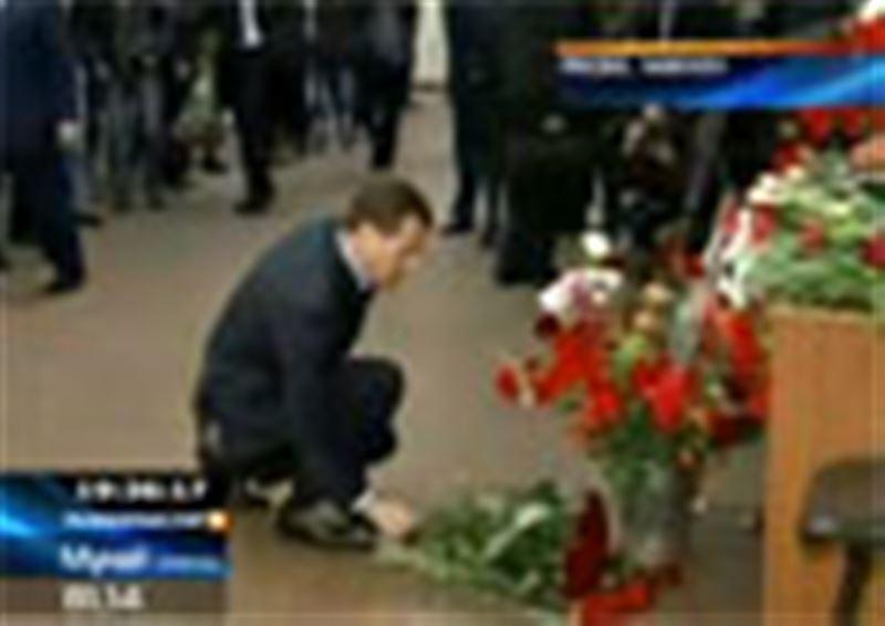 В Москве сегодня День траура по погибшим в результате взрывов в подземке