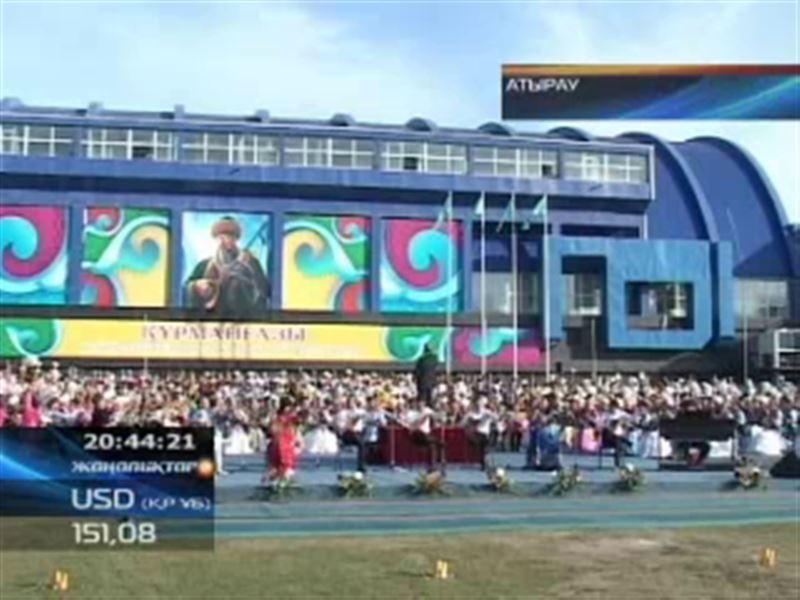 Бір мезетте 1008 музыкант күй тартып, рекорд орнатты