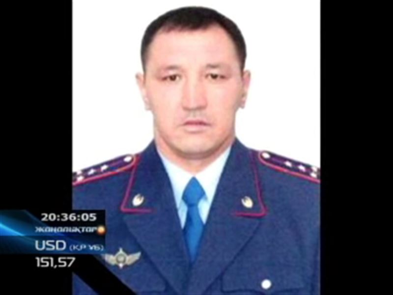Алматы облысында қару кезенген қария бір полицейді мерт қылып, екіншісін жаралады
