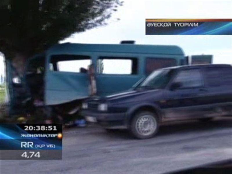 Ыстықкөлде автобус апатқа ұшырап, 13 адам қайтыс болды