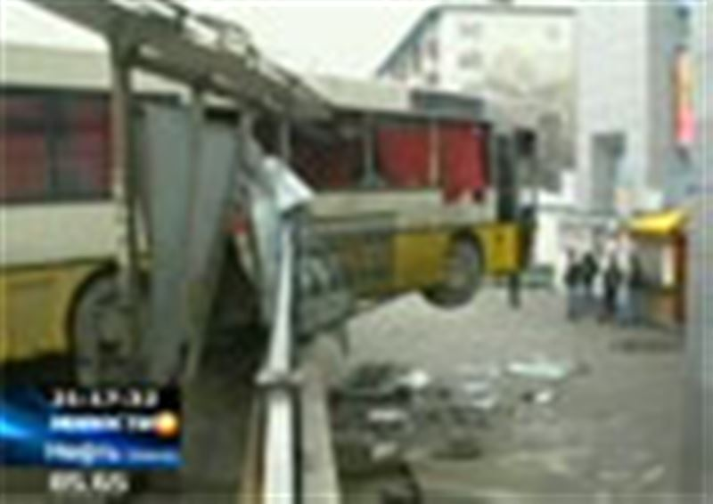 Необычное ДТП случилось сегодня рано утром в Алматы