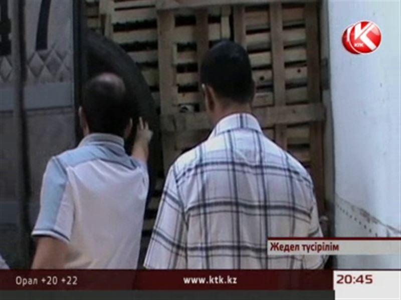 Қырғыздар 18 тонна үйрек етін контрабандалық жолмен алып өтпек болған